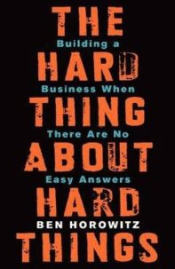hard thing about hard things